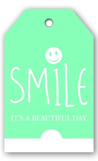 Grußkarten Smile (12 Stück)