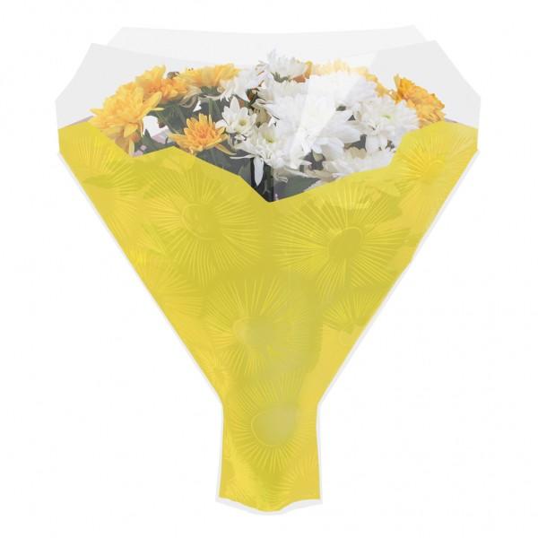 Blumentüten 52/44/12 Cleome gelb (50 Stück)