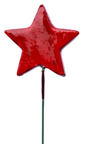 Beistecker OTH Stern rot (48 Stück)