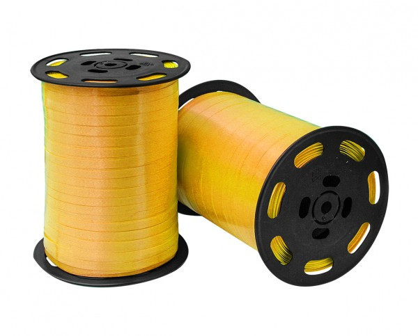 Kräuselband 4,8mmx500m 02 gelb