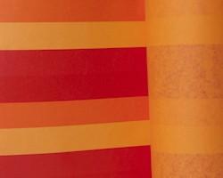 Manschettenpapier 25cm/100m Balken orange