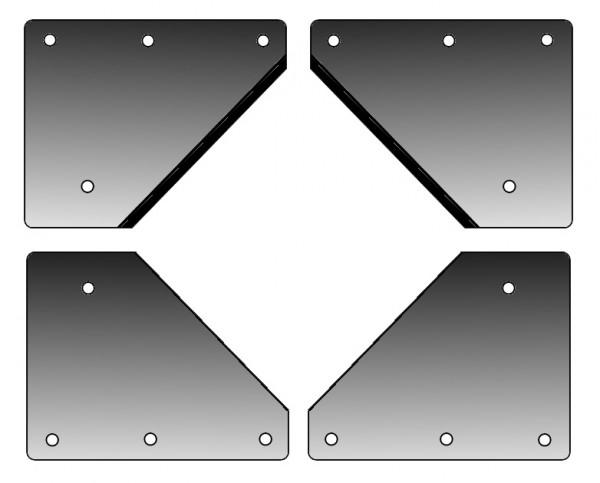 Messer Bundschneider KLEIN (komplettes Set)