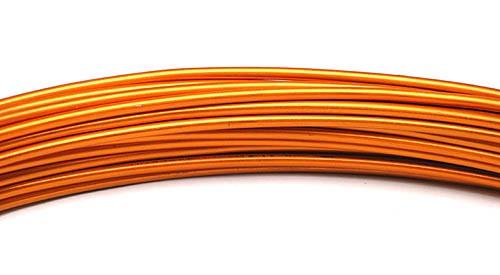 Aluminiumdraht 2,0mm orange 100g/12m
