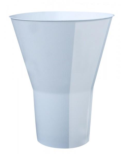 Floristenvase Y 35cm weiß