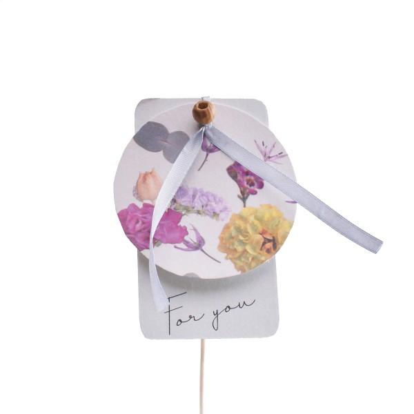 """Beistecker Geschenkkarte """"For You"""" 10,5cm 50cm (10 Stück)"""