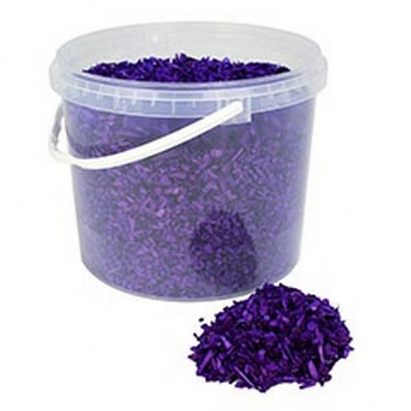 Deko Holzchips lila (10 Liter)