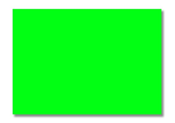 Plakatkarton 48x68cm Neongrün 10 Bögen 70459