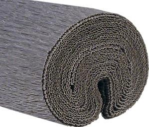Krepppapier 50x250cm silber gestrichen 5 Stück