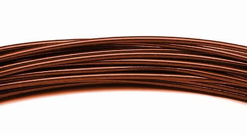 Aluminiumdraht 2,0mm brandy 100g/12m