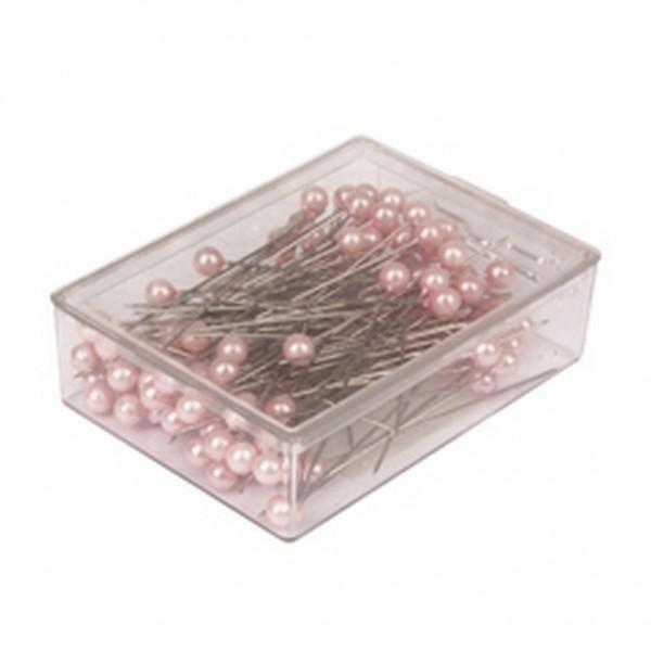 Stecknadeln 6mm pink (100 Stück)