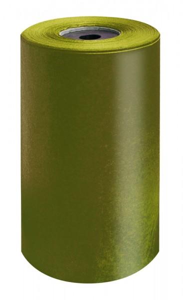 Brillant-Perlschutz Manschettenpapier 25cm/200m oliv