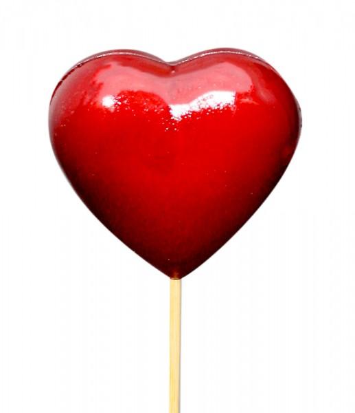 Beistecker Herz rot (25 Stück)