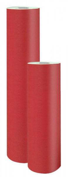 Blumenpapier Rolle 75cm 38g 9kg vollflächig rot