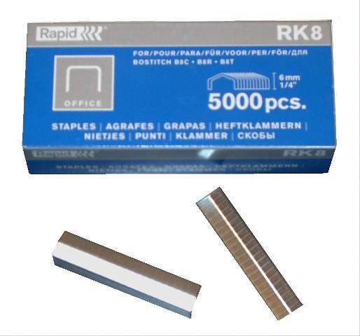 Klammern 1/4 6mm 5000 Stück