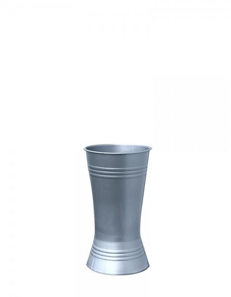 Floristenvase X-Form 21-12 Zink