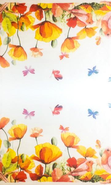 Blumenpapier Bögen 62x85 40g Weiß Kraft Frühling 10 kg