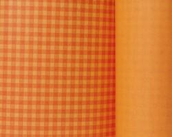 Manschettenpapier 25cm/100m Karo orange