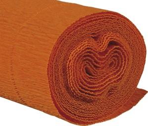Krepppapier 160g 50x250cm orange 5 Stück