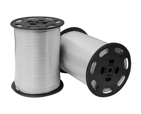 Kräuselband 4,8mmx500m 05 silber