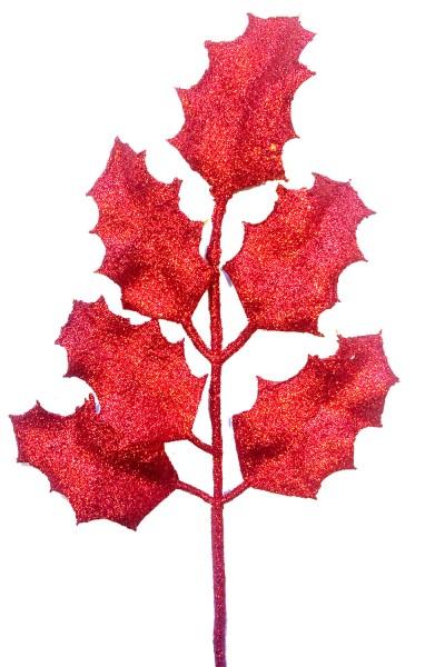 Beistecker Ilex Blätter 45cm rot (8 Stück)