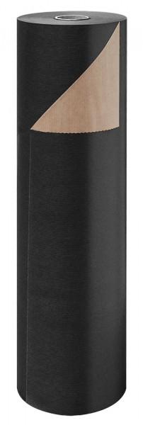 Blumenpapier Rolle 60cm 50g Braun Kraft schwarz 12kg