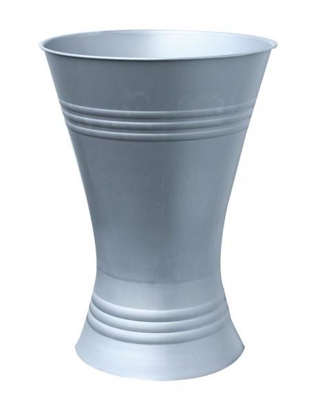 Floristenvase X-Form 45cm Zink