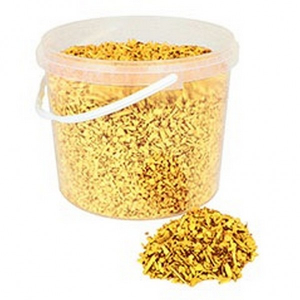 Deko Holzchips gelb (10 Liter)