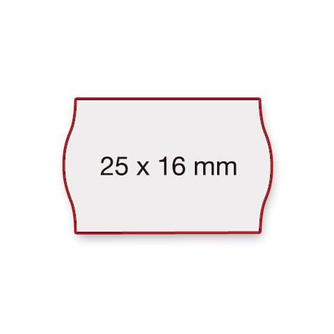 Etiketten Contact 25x16mm weiß G2 Permanent 1100 Stück