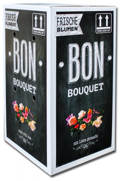 "Versandkarton ""Bon Bouquet"" 30x33x60cm (30 Stück)"