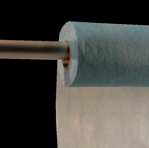 Decofleece 60cm/25m hellblau PMS298