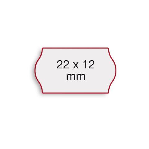 Etiketten Contact 22x12mm weiß G2 Permanent 1500 Stück