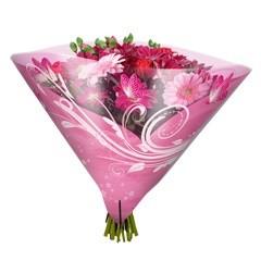 Blumentüten 35/35 Angelo Shade pink (50 Stück)