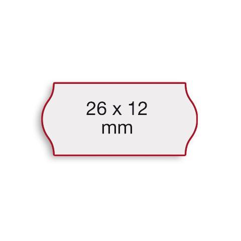 Etiketten Contact 26x12mm weiß G1 Abnehmbar 1500 Stück