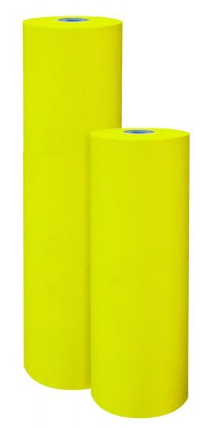 Blumenpapier 75cm 32g Premium 2-seitig Lemon