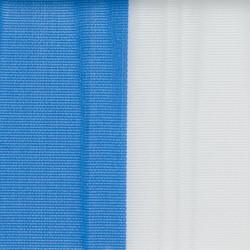 Nationalband 200mm 25m blau/weiß