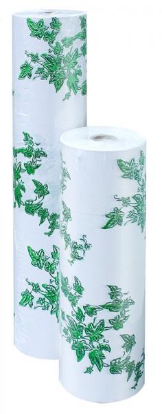 Blumenpapier Rolle 50cm 30g weiß Efeu 8kg