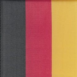 Nationalband 100mm 25m schwarz/rot/gold