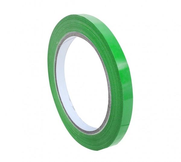 Klebeband PVC 9mm 66m grün (16 Rollen)
