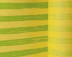 Manschettenpapier 25cm/100m Streifen maigrün