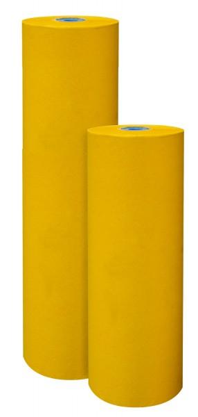 Blumenpapier 50cm 32g Premium 2-seitig Zitronengelb