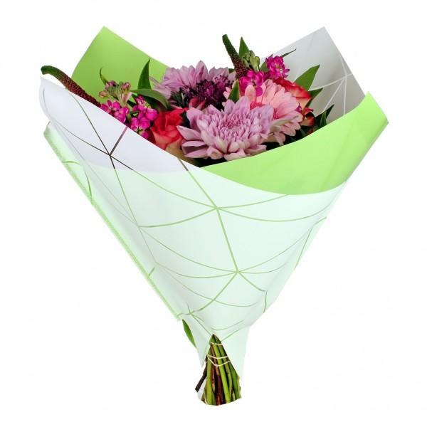 Blumentüten 35/35 Oblique Diesel grün (25 Stück)