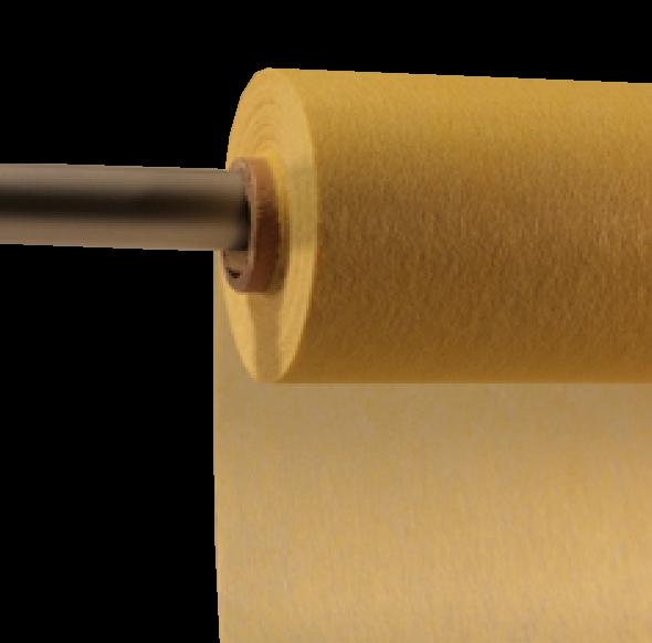 Decofleece 60cm/25m hellgelb PMS102