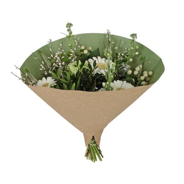 Blumentüten 35/35 Angelo braun kraft-hell grün 70g (25 Stück)