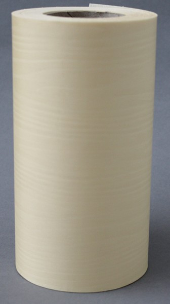 Kranzband Moire 125mm 25m sekt