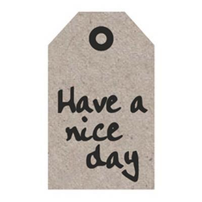 "Blumenkarten ""Have a nice day"" à 20 Stück"