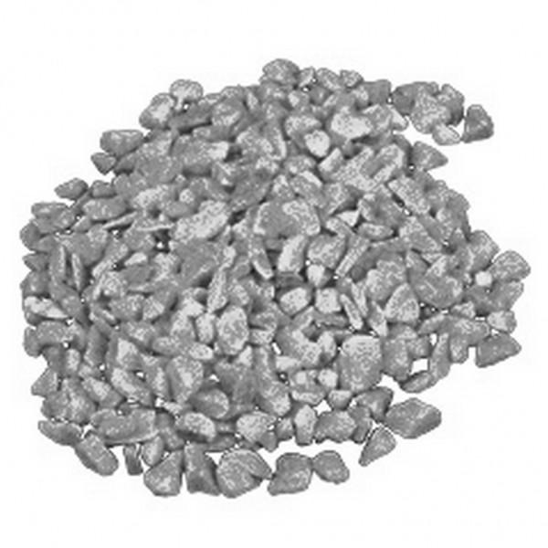 Dekosteine 4-6mm silber (5kg)