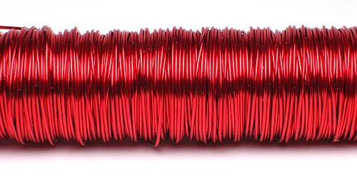 Decodraht advendrot hochglänzend 100g