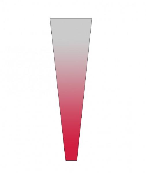 Rosentüten 55/13/3 OPP40 Usual Rot (50 Stück)