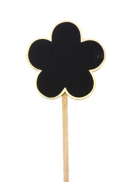 Preisschilder Holz Blume 40cm 9cm (10 Stück)