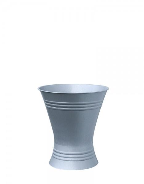 Floristenvase X-Form 21-18 Zink